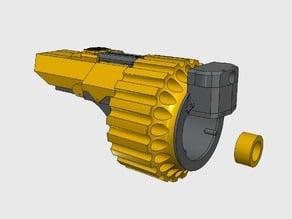 FALCONER MK I - Nerf-Style Foam Dart Gauntlet