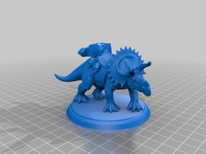 Triceratops Dungeons and Dragons