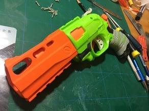 Nerf DoubleStrike 'Rhino' barrel shroud