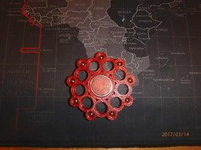 """7/32"""" Ball Bearing Fidget Spinner - Wingnut2k #2"""