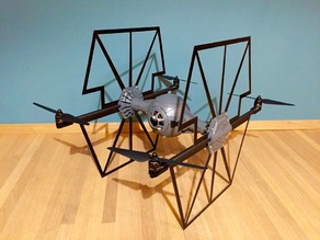 TIE Fighter Quadcopter