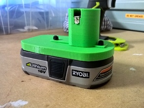 Battery Holder for Ryobi 18V battery