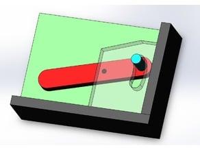 Batteur Flipper / Flipper Pinball : Modèle 1/5