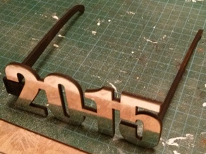 2015 laser cut party glasses