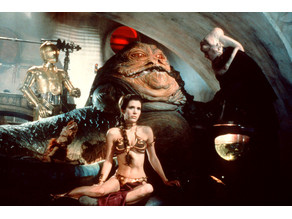 Princess Leia Slave scene Lithophane