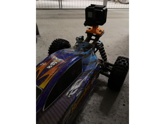 GoPro Mount for Carson Specter 6S RC Car by wigo - Thingiverse