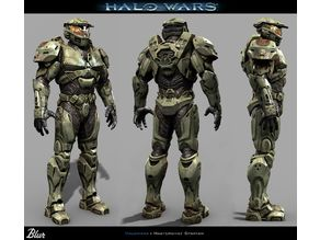 Halo Wars - Mark IV Armor Set - Including Helmet
