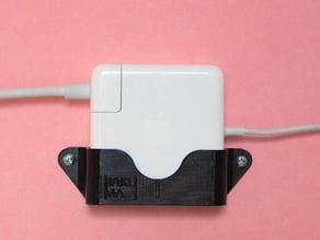 Macbook pro power supply mount