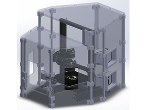 The optimized Enclosure for Ender 3