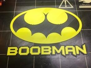 Boobman Logo