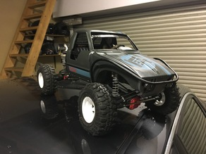 SCX10 hilux truggy grill