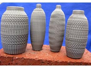 Decorated Vases