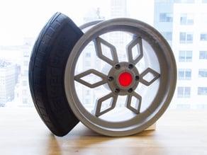 Car Wheel Concept