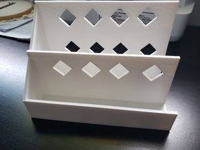 vertical paper tray