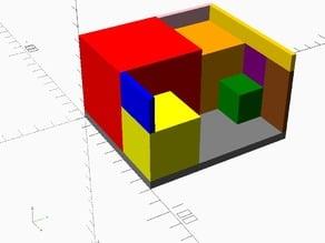 4 Box Showcase