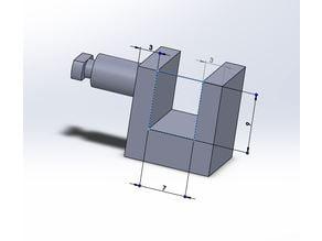Siematic Halter für die Türen / Siematic door holder