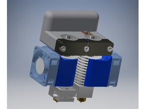 Hypercube Dual Hotend holder with adjustment