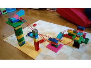 Duplo compatible marble run - add on
