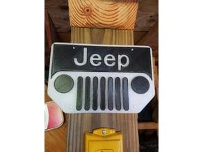 Jeep Grill Logo