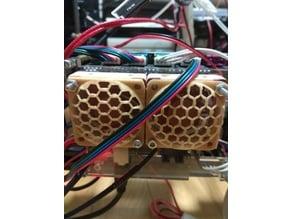 40mm honeycomb fangrill