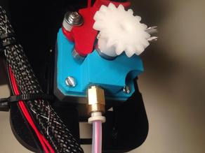 Rostock Max V2 TPE / Ninjaflex Custom Extruder for soft filaments
