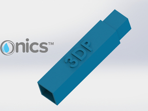Support Rod (Square) - 3Dponics Drip Hydroponics