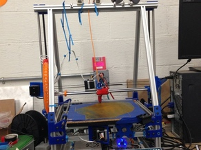 Large Bed Mendel Max Printer Variant