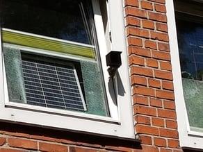 Window Mounting for 80mm Radiator (outside) // Fensterbefestigung für 80mm Radiator (außen)