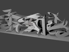 BTK font 1