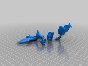 lego flying animals