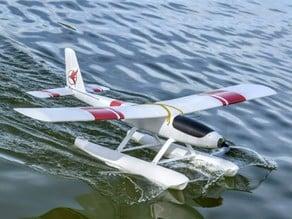 RC seaplane test part
