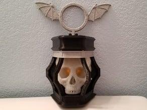 Skull Lantern Tea Light Mod