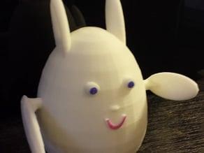 Easter Rabbit Egg Toy