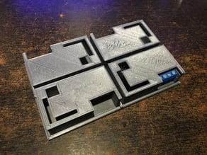 Tray for 4 X Pololu Motor Controller Enclosures