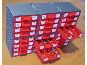 Stackable Resistor Storage Box [Customizable]