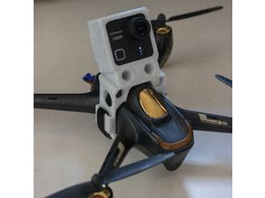 Action Camera Mount for Hubsan H501S with Fusion 360 File