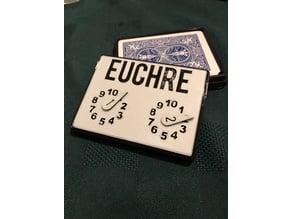 Euchre Deck Holder / Score Keeper