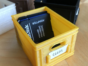 CRATEFULL | Miniature Stackable Milk Crate
