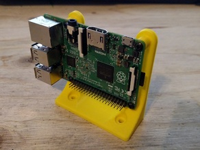 Raspberry Pi Angle/Upright Mount