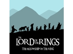 LOTR Silhouette Stand