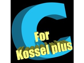 Kossel plus /Anycubic Plus - Profile for CURA 2.3.1