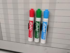 Expo Whiteboard Marker Clip (3-Marker Variation)