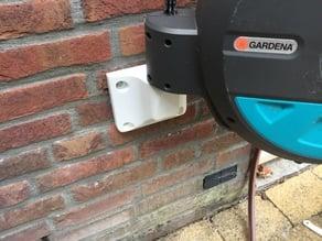 Gardena garden hose holder