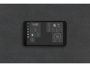 506L Magnetic tablet wall mount