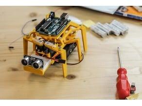 EDUino DIY hexapod arduino robot