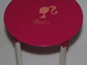 table barbie