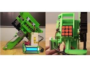Rubik Cube Robot Scrambler - Also Solver in Future