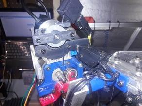 Kossel Clear Filament Jam Sensor