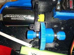 OpenRC Truggy Central Differential Axle Shaft