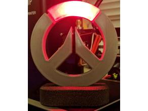 Overwatch Logo Stand - LED Insert